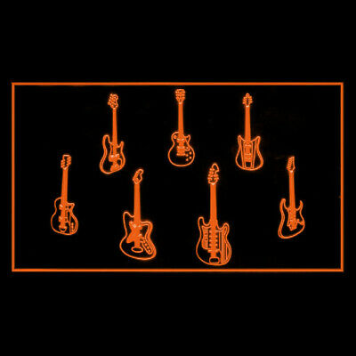 140092 Guitar Weapons Band Hero Buy Sell Trade Acoustic Musical LED Light Sign