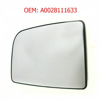New Wing Mirror Glass /& Base Silver RHS For Sprinter 2006 Onwards OEM A0028111633