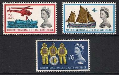 GB 1963 Commemorative Stamps~Lifeboat~Unmounted Mint Set~UK Seller