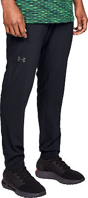 Under Armour Vanish Woven Mens Training Pants Black Sweatpants Gym Sport Joggers