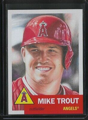 2019 TOPPS LIVING SET # 200 MIKE TROUT Los Angeles Angels In Stock