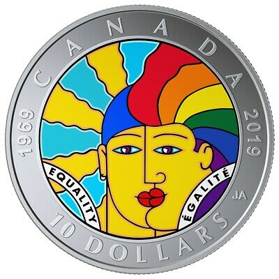 Equality - 2019 Canada $10 Fine Silver Coin