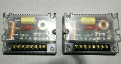 DRAGSTER COPPIA CROSSOVER 2 VIE AUDIOPHILE TOP DI GAMMA BULK 2 x 150 WATT 4 OHM