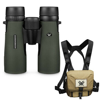 Vortex 8x42 Diamondback HD Roof Prism Binoculars with GlassPak Harness Case