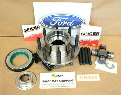 WHEEL HUBS FORD F350 Dana 60 Front Single Wheel Hubs With Spicer