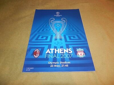 UEFA Champions League Final - AC Milan v Liverpool in 2007 in Athens