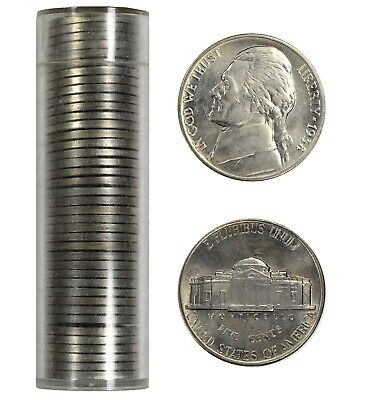 FULL ROLL 40 COINS 1970 S PROOF JEFFERSON NICKELS 5C GEM PROOF