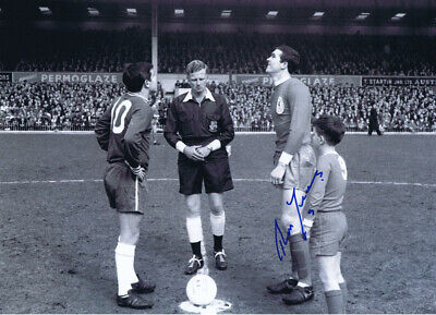 LIV 028 - HAND SIGNED 16x12 PHOTO LIVERPOOL 1965 RON YEATS