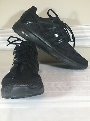 Adidas Energy Cloud Black Running Athletic Sport Shoes Men's Size 9.5 (S81023D)