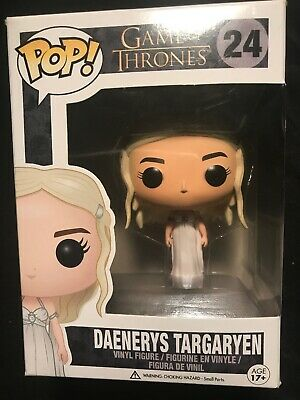 Funko Pop Game of Thrones Daenerys Targaryen 24 Wedding Slight Wear w Protector