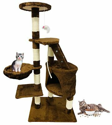 "New 48"" Cat Tree Tower Condo Scratcher Furniture Kitten House Activity Center"