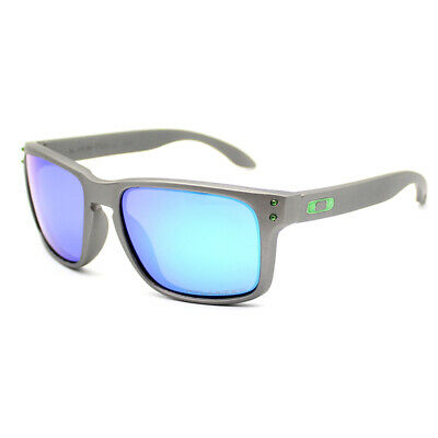 Fashion Sports Oakley Holbrook Polarized Sunglasses Gray Frame Green Lens