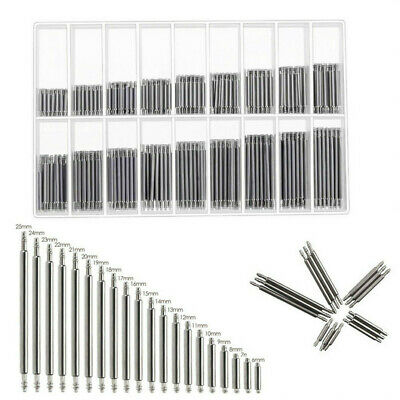 360Pcs Watch Band Pins Strap Spring Bars Link Pins Repair Tool Part Set 8-25mm