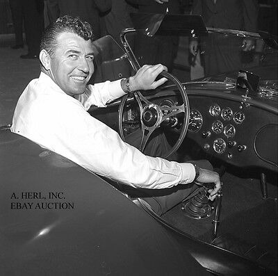 AC Cobra - Shelby Cobra & Carroll Shelby - 1963 debut production Venice CA photo