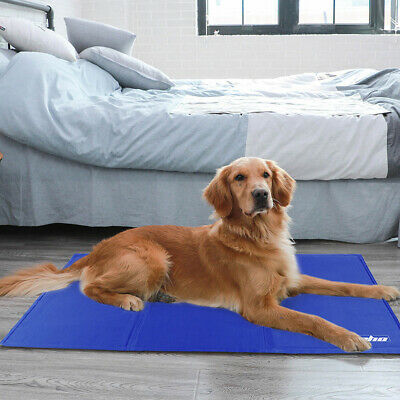 Xx Large Self Cooling Cool Gel Mat Pet Dog Cat Heat Relief Non-Toxic Summer Cool