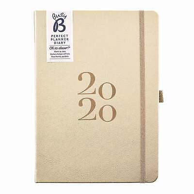 Busy B, Perfect Planner Gold A5 Diary 2020