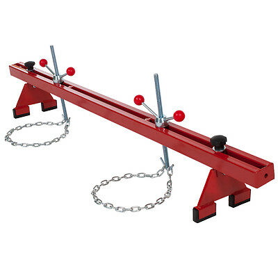 Engine support double beam bar stand motor 500kg traverse lifter gearbox new