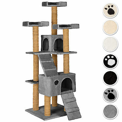 Large Cat Tree Scratch Scratcher Scratching Post Toy Activity Centre new
