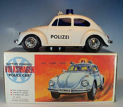 Alps Japan Volkswagen VW Käfer Beetle Police Battery powered plastic OVP #1810
