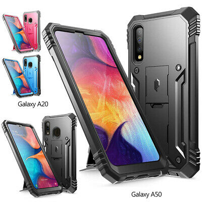 Samsung Galaxy A20 / A50 Case w/Kick-stand,Poetic® Dual Layer Shockproof Cover