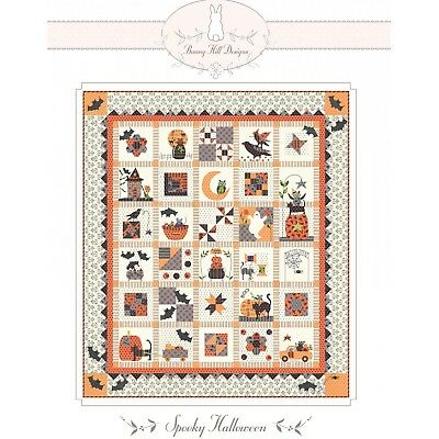 Spooky Halloween Quilt Pattern by Bunny Hill Designs
