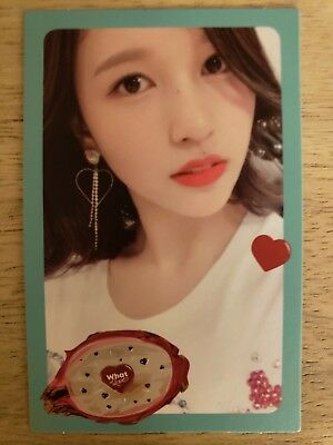 TWICE Mina What Is Love Official Photocard