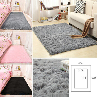 Shaggy Rugs Carpet Living Room Bedroom Area Rug Soft Fluffy Floor Mat Home Decor