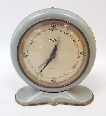 Vintage SMITHS EMPIRE Alarmette Travel Alarm Clock - H56