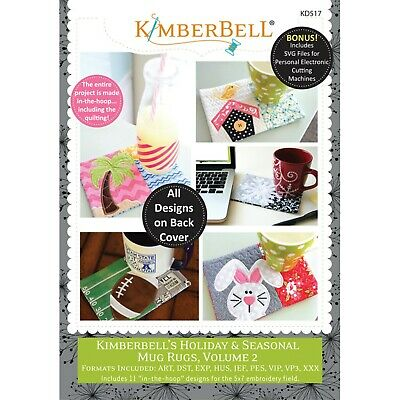 Mug Rugs, Volume 2, Kimberbell's Holiday & Seasonal