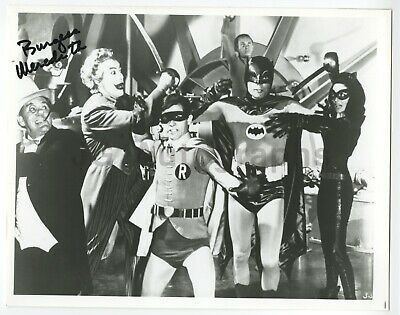 "Burgess Meredith - ""Batman"" TV Series - Autographed 8x10 Glossy Photograph"