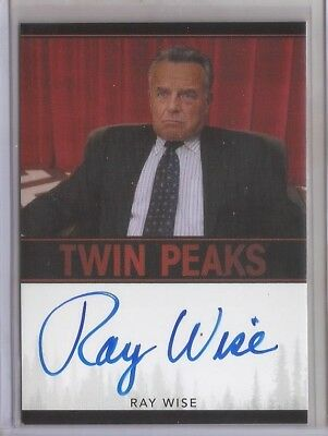 2018 Twin Peaks RAY WISE Autograph Card LELAND PALMER Very Limited EVENT SERIES