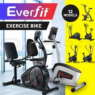 Everfit Exercise Bike Elliptical Cross Trainer Equipment Home Gym Machine