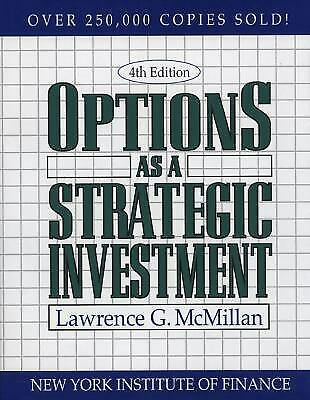 Options as a Strategic Investment  (ExLib) by Lawrence G. McMillan