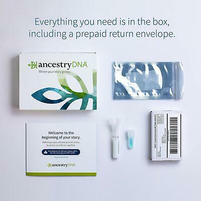 Ancestrydna Genetic Testing DNA Ancestry Test Kit ~ NEW ~ SEALED