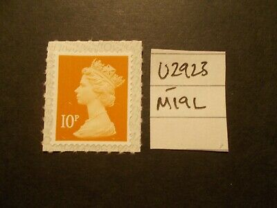 GB 2019~Security Machin~10p~SG U2923~M19L~S/A~WB~Unmounted Mint~UK