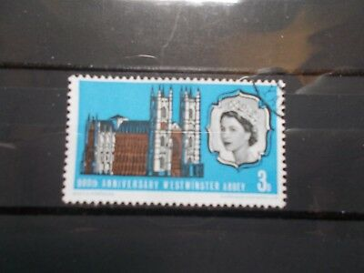 GB 1966 Commemorative Stamps~Abbey~Phosphor~Fine Used Set~UK Seller