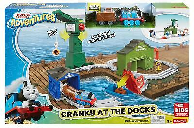 New Official Thomas & Friends Cranky At The Docks Set Toy Train Set