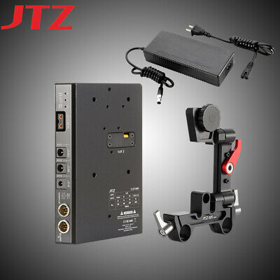 New JTZ DP30 C5 CCUPS LE V-Mount Power Supply Battery Plate For DSLR Rig Camera