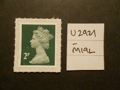 GB 2019~Security Machin~2p~SG U2921~M19L~S/A~WB~Unmounted Mint~UK
