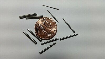 10  Tapered Steel Pins 2 Each Of 5  Different Sizes Pins For Antique Clocks