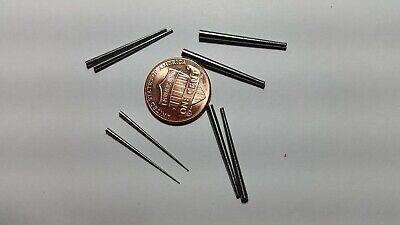 8  Tapered Steel Pins 2 Each Of 4  Different Sizes Pins For Antique Clocks