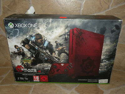 Microsoft XBOX ONE S 2000GB / 2TB Limited Edition Gears of war 4 Konsole