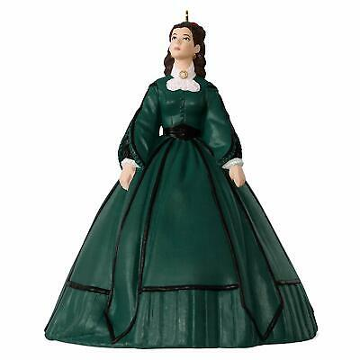 Hallmark Keepsake Christmas Ornament 2018 Year Dated, Gone With the Wind Scarlet