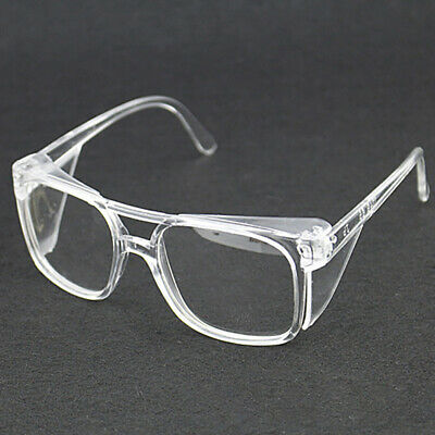 Clear Lens Eye Protection Safety Glasses Anti dust Anti Sand Work Spectacles
