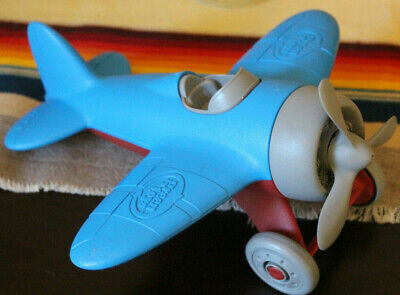 Red Aero Plane for Improving Ae BPA Free Phthalates Free Green Toys Airplane