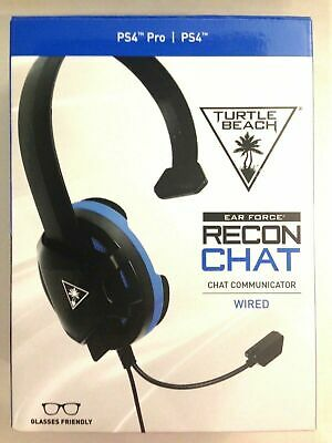Turtle Beach Ear Force Recon CHAT Wired Gaming Headset for PS4 PRO & PS4 - Black