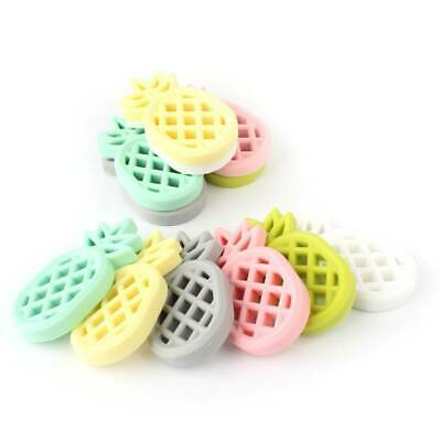 Pineapple Baby Teether Soft Silicone Pacifier Necklace Pendant Teeth Chew Toys