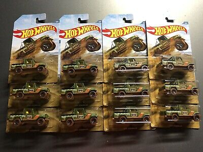'Spanking' NEW HOT WHEELS JEEP SCRAMBLER 2019 OFF ROAD TRUCK SERIES ! RARE Lot12