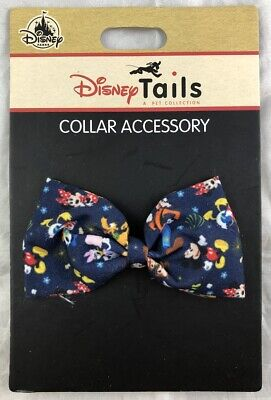 Disney Parks Tails Collar Accessory Mickey & Friends Bow for Pets Dog Cat - NEW