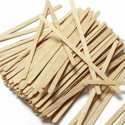 "Wooden Coffee Stirrers for Paper Coffee Cups, Cup Sticks 5.5"" (140mm) Hot Drinks"